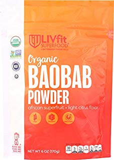 (NOT A CASE) Superfood Organic Baobab Powder