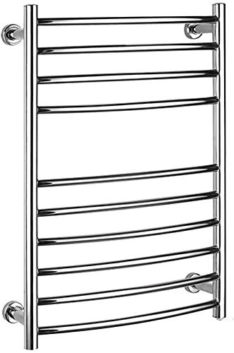 Toallero eléctrico para el hogar, radiador eléctrico de acero inoxidable 304 y...