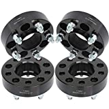 GDSMOTU 4pc Hubcentric Wheel Spacers 5 Lug 1.5' Wheel Spacers 5x4.5 with 1/2' Studs
