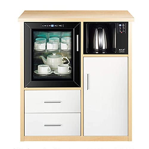 DXCSAA Sideboards Tea Cabinet Simple Modern Office Tea Bar Cabinet Household Multifunctional Tea...