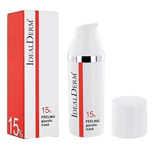 15% AHA Fruchtsäurepeeling Mask Creme: Glycolsäure & Menthol. Ideal als erstes Peeling.Vorbereitung d. Haut v. Anwendung chemischer Peelings,Mikrodermabrasion,Kollagen Pflegemasken. Feines Hautbild.