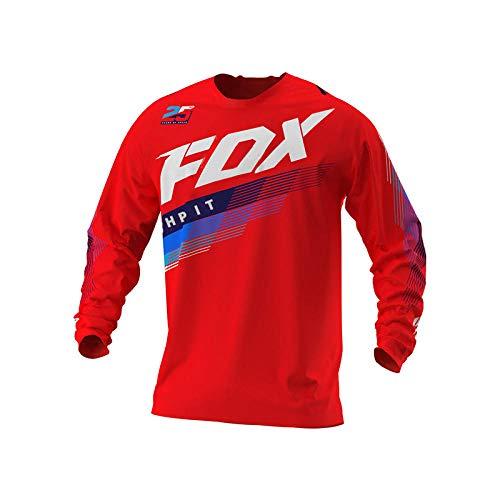 2021 Men's Downhill Jerseys Hpit Fox Mountain Bike MTB Shirts Offroad Dh Motorcycle Jersey Motocross Sportwear Clothing Fxr Bike-XS
