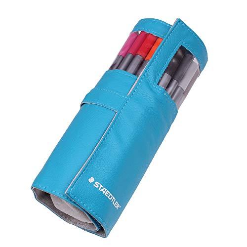 STAEDTLER Triplus Fineliners 20 Fall farblich sortiert mit Bleistift 334 Pc20 Blue von