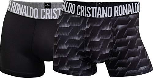 CR7 Cristiano Ronaldo - Fashion - Calzoncillos de Microfibra - Hombres - Pack de 2 - S|M|L|XL