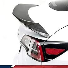 JC SPORTLINE Model 3 Real Carbon Fiber Spoiler for Tesla Model 3 Tail Wing Rear Trunk Lid Spoiler Wing Compatible Model 3 2016-2021 Factory Outlet