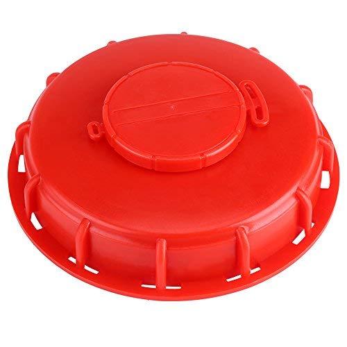 IBC Tankdeckel Tankanschluss Kunststoffverschlussdeckel Flüssigkeitsspeicherdeckel Adapter 163 mm(1)
