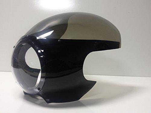 Bullet Style Motorcycle Fairing Cafe Racer Streetfighter W/mounts Black ~ Smoke