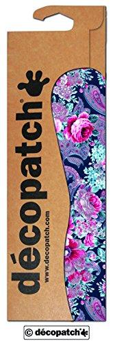 Decopatch Papier No. 592 (Oriental blau pink Rosen, 395 x 298 mm) 3er Pack