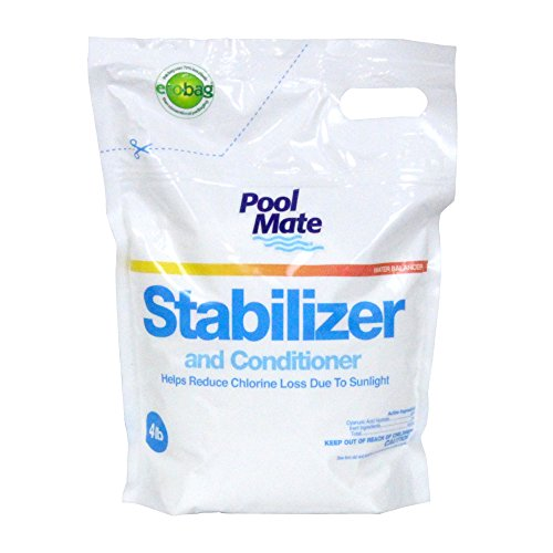 Pool Mate 1-2604B Stabilizer and Conditioner for Swimming Pools, 4-Pound