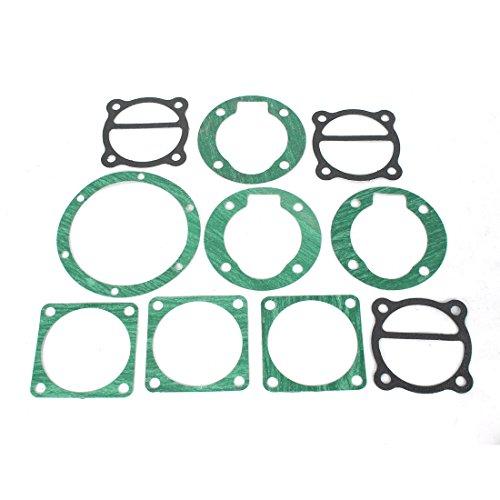 sourcingmap® 10 in 1 Industrie Luft Kompressor Zylinder Basis Dichtungen Ventilplatte de