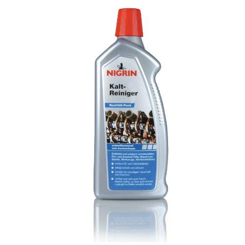 NIGRIN 74290 Kaltreiniger 1000 ml, Nachfüllflasche