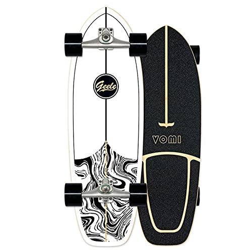 Surfskate Carving Skateboard Monopatín Pumpping surf simulado CX4, Arce tablero 78×24cm, Rodamien