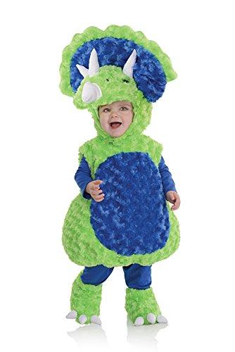 Underwraps Costumes Costume Peluche bébé triceraptops Taille 18/24 Mois