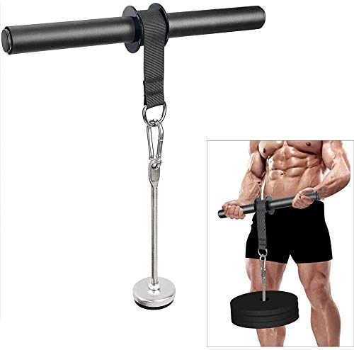 CELLTEK Forearm Wrist Roller Blaster Exercise Trainer Weight-Bearing Wider Nylon Straps Arm Strength Training Fitness Equipment Anti-Slip Home Gym Workout