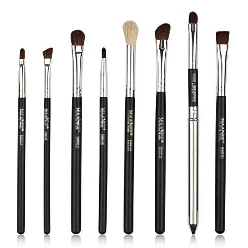Eye ombre brosse 8 pcs Maquilleur brosse sourcils outils de beauté professionnelle brosse contour de pinceau à lèvres