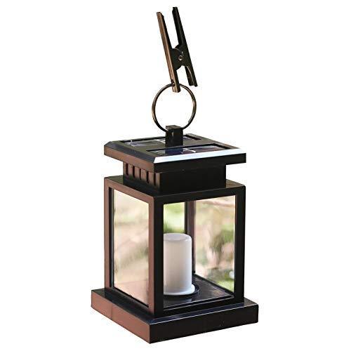 Relaxbx Solarlamp, hanglamp voor buiten, kleine zonnelamp, tuinverlichting, solar geluidsbediening, draadloze waterdichte inductieplaats buitenshuis, voor zonne-hanglamp in de open lucht