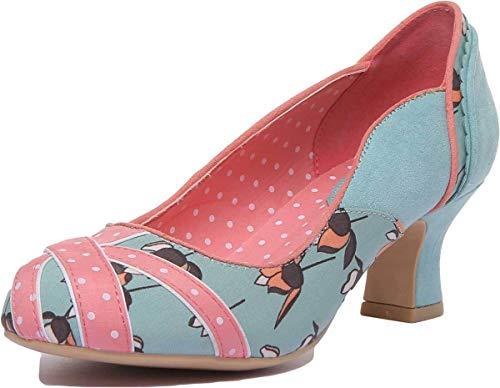 Ruby Shoo Paula Womens Shoes Blue