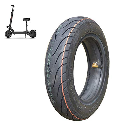 SLRMKK Electric Scooter Tires, 10-inch 10x2.25/2.5 Inflatable Inner and Outer Tires, Widened Non-Slip Tires, Safe and Stable, Strong Abrasion Resistance
