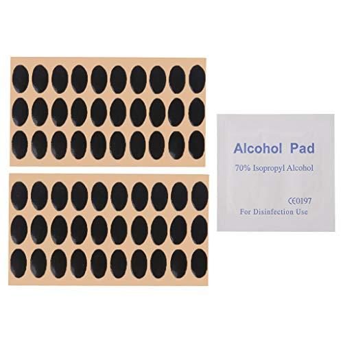 chenpaif Almohadillas para Patines de ratón con Patas de teflón 60pcs Logitech M215 / M310 / M325