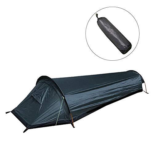 Sac de bivouac ultraléger pour une personne - Sac de couchage étanche - Pour camping, randonnée, voyage, escalade