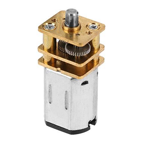 Mini Motor Electrico Baja Velocidad 6v Con Engranaje - Adaptado De Dc...
