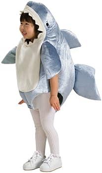 Rubie's Unisex-Child Deluxe Shark Romper Costume