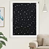Oxdigi 100% Blackout Blinds Curtains Portable Shades with Suction Cups for Baby Nursery Bedroom Travel RV...