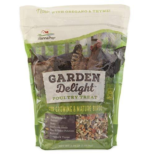 Manna Pro Garden Delight Poultry Treat, 2.25 lb