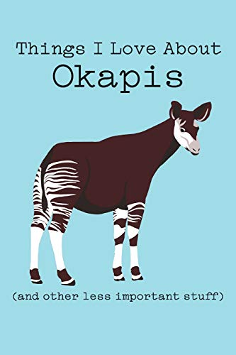 Things I Love About Okapi (and other less important stuff): Blank Lined Journal