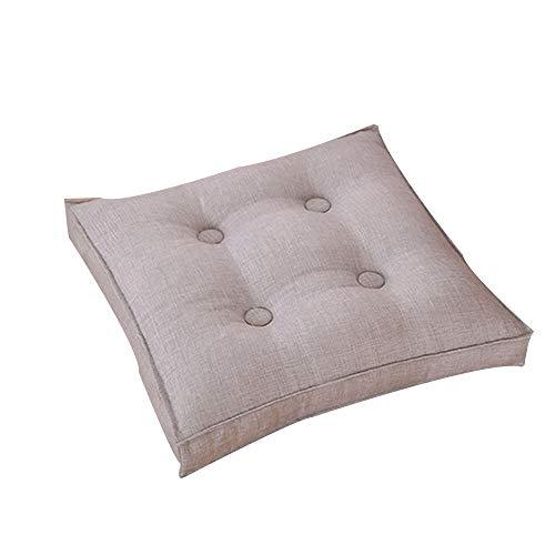 AGDLLYD Cuscini per sedie da Pranzo Cuscino,Cuscini Morbidi per sedie da Giardino con Laccetto Cucina Blu Scuro 40 x 40 x5 cm Confezione da 6. Sala da Pranzo Ufficio