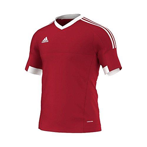 adidas Herrentrikot - Tiro 15 S rot / weiß