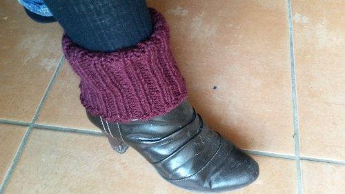 Strickanleitung Stiefeletten Stulpen Stiefel Stulpen- auch für Anfänger: Perfekt einfach