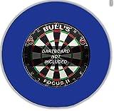 BULL'S Pro Dartboard Surround / Catchring / Auffangring / Wandschutz, blau -