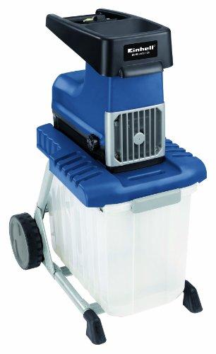 Einhell BG-RS 2845/1 CB Elektro-Leisehäcksler, 2800 Watt, max. Ø 45 mm Aststärke,  inkl. 60l Fangbox