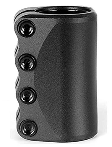 GAOJJ Pro Stunt Scooter Abrazadera Sistema SCS de 4 Pernos para Manillar de 31,8 mm / 34,9 mm - Aluminio 6061, Alto 80 mm - Piezas de Scooter,Negro,31.8mm