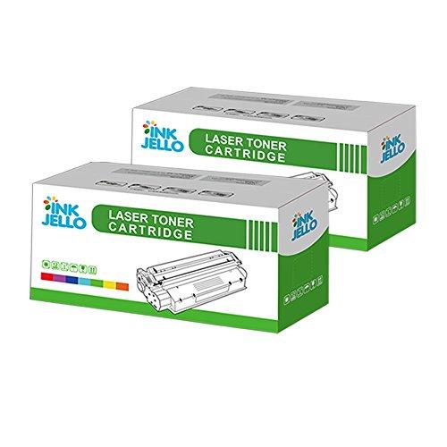 InkJello kompatibel Toner Patrone Ersatz für Brother DCP-7055 DCP-7055W HL-2130 HL-2132 HL-2135W TN-2010 (BK, 2-Pack)