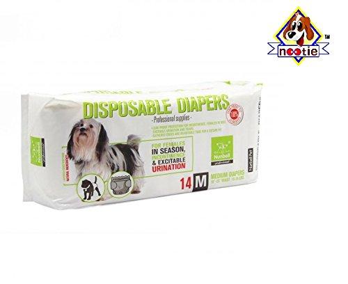 Nootie Nunbell Diaper, 400 g (14 Pieces, Medium)