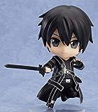 Sword Art Online Black Swordsman Q Nendoroid Tamaño 10 cm-Modelo de personaje de PVC-Colección de regalo de cumpleaños-Decoraciones para el hogar