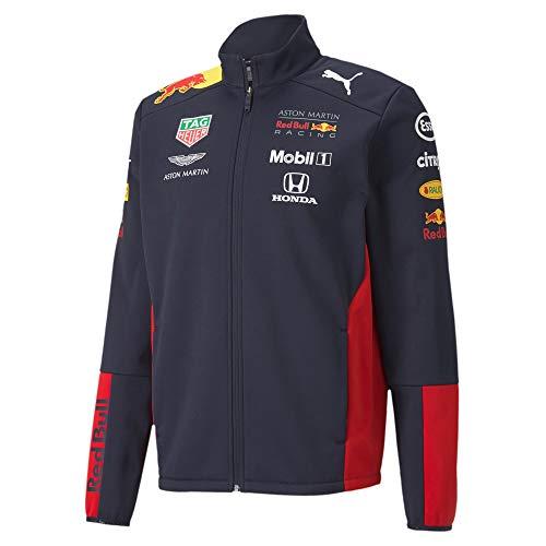 PUMA Red Bull Racing Team Softshell Jacke (M, Navy)