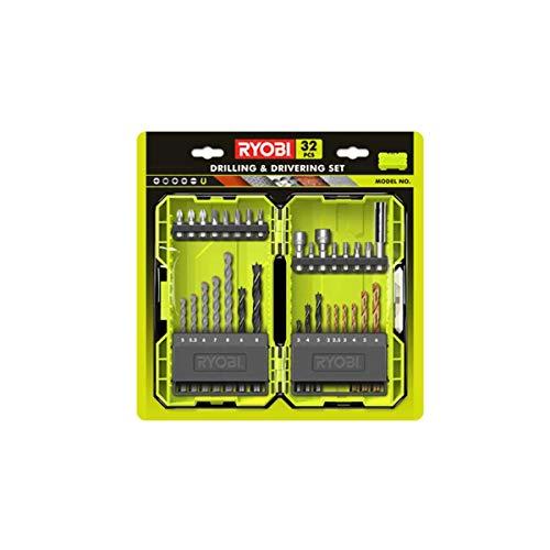 Ryobi RAK32DDMIX Juego de brocas y puntas de destornillador mixtas (32 piezas)