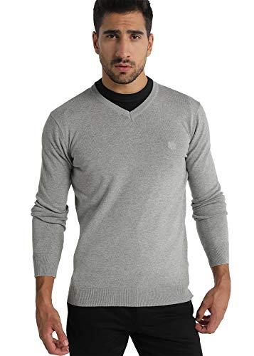 Bendorff - Jersey para Hombre   Jersey Básico con Cuello Pico   algodón   Tallaje en Pulgadas   Talla Inch - XL