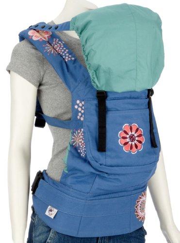 Ergobaby Carrier Organic Fashion, blue / starburst