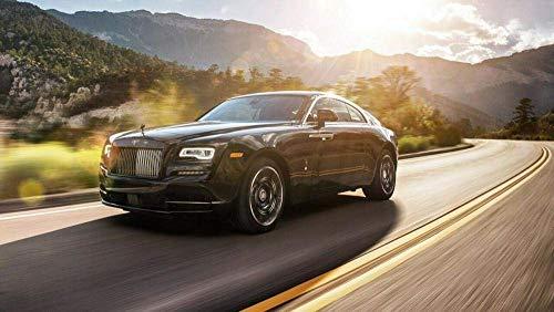 NIYEYE 1000 Piezas Rompecabezas De Alta Definición Piezas Puzzle Rompecabezas para Niños Adultos Lógica Y La Coordinación Juegos, Rolls-Royce Badge 3 Auto Car