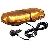 Auto Blinkende Blitzlicht Emergenecy Warnung Lichter 72LED 18W Bernsteinfarbene Warnblinkanlage Bar...