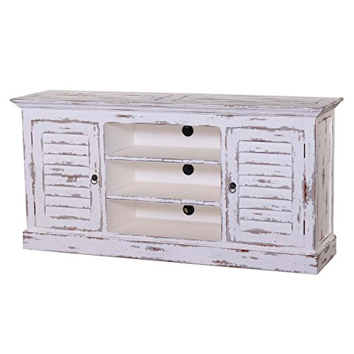 Cottage Collection Shutter Plasma TV Stand