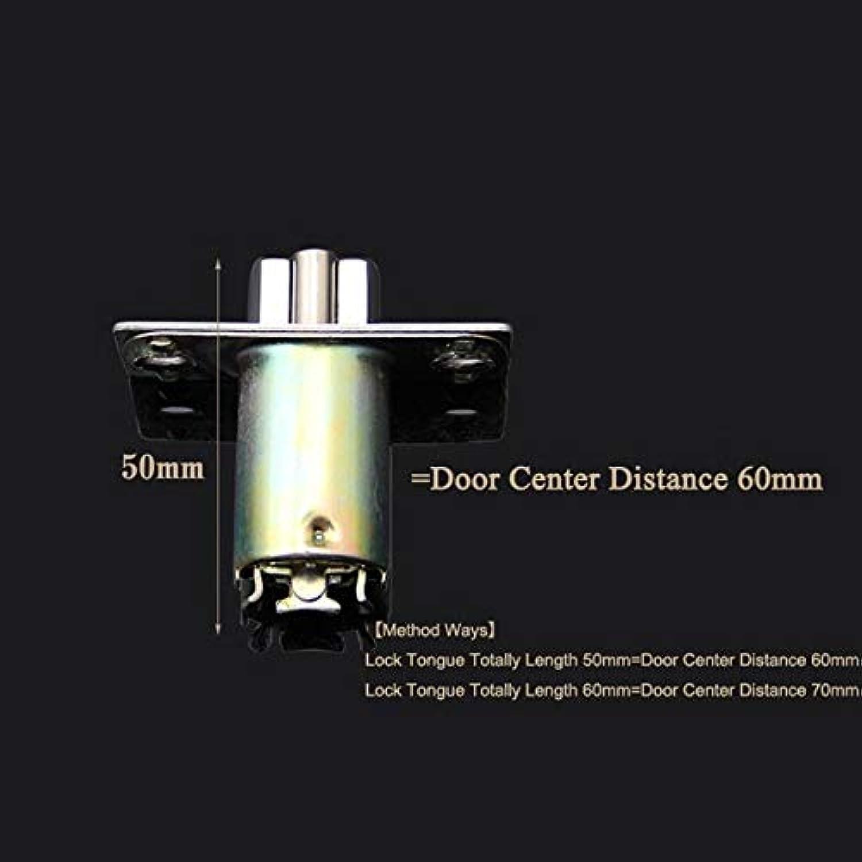 Top Designed 2PCS lot 50mm 60mm Length Lock Core Tongue Security Door Lock Cylinder Locks Accessories  (color  Center Distance 60mm)