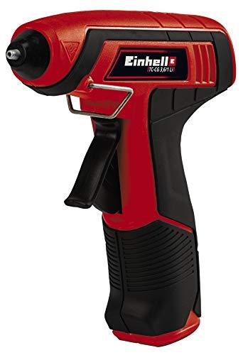 Einhell 4522190 TC-CG 3,6/1 Li Pistolet à colle sans fil, (L x B) 203 mm x 192 mm