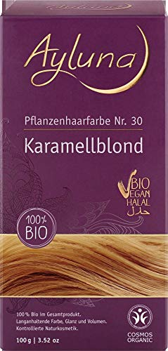 Ayluna Bio Pflanzenhaarfarbe Karamellblond (2 x 115 gr)