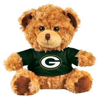 NFL Forever Collectibles Unisex Green Bay Packers Bear