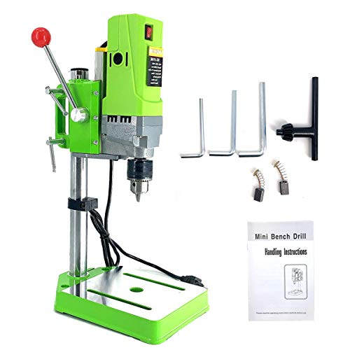 DOMINTY Bench Drill Stand 710W Mini Electric Bench Drilling Machine Drill Chuck 1-13mm for Hand Drill